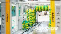 Китай Автомойка оборудование с тремя сушки вентиляторов, опрокидывание мыть систем завод
